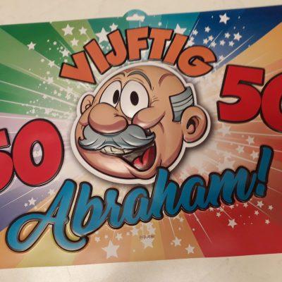 Deur bord Abraham