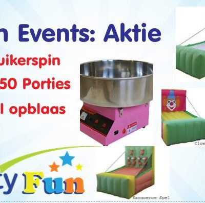 Fun events actie