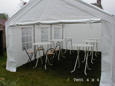 partytent 4 x 6