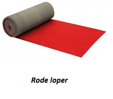 Rode loper