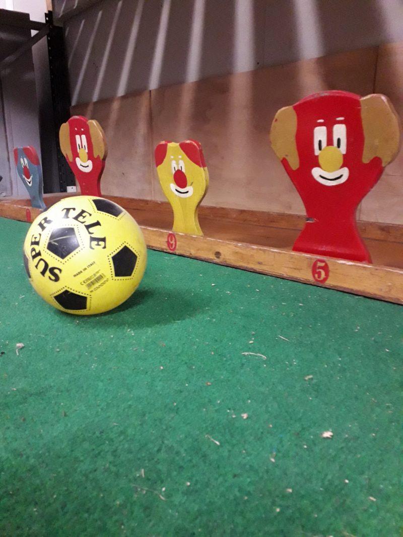 voetbal kop spel