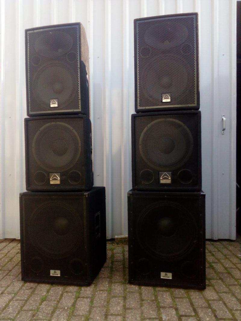 actieve speaker set