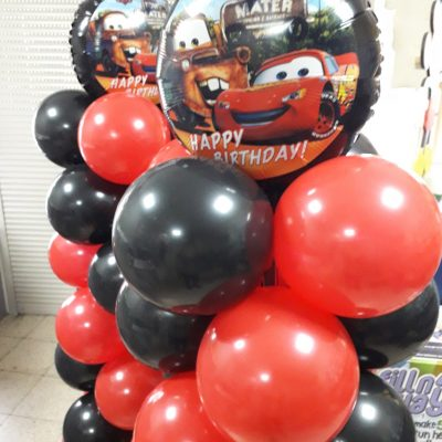 ballon pilaar cars