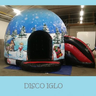 Winter disco kussen