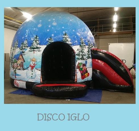 Winter disco kussen