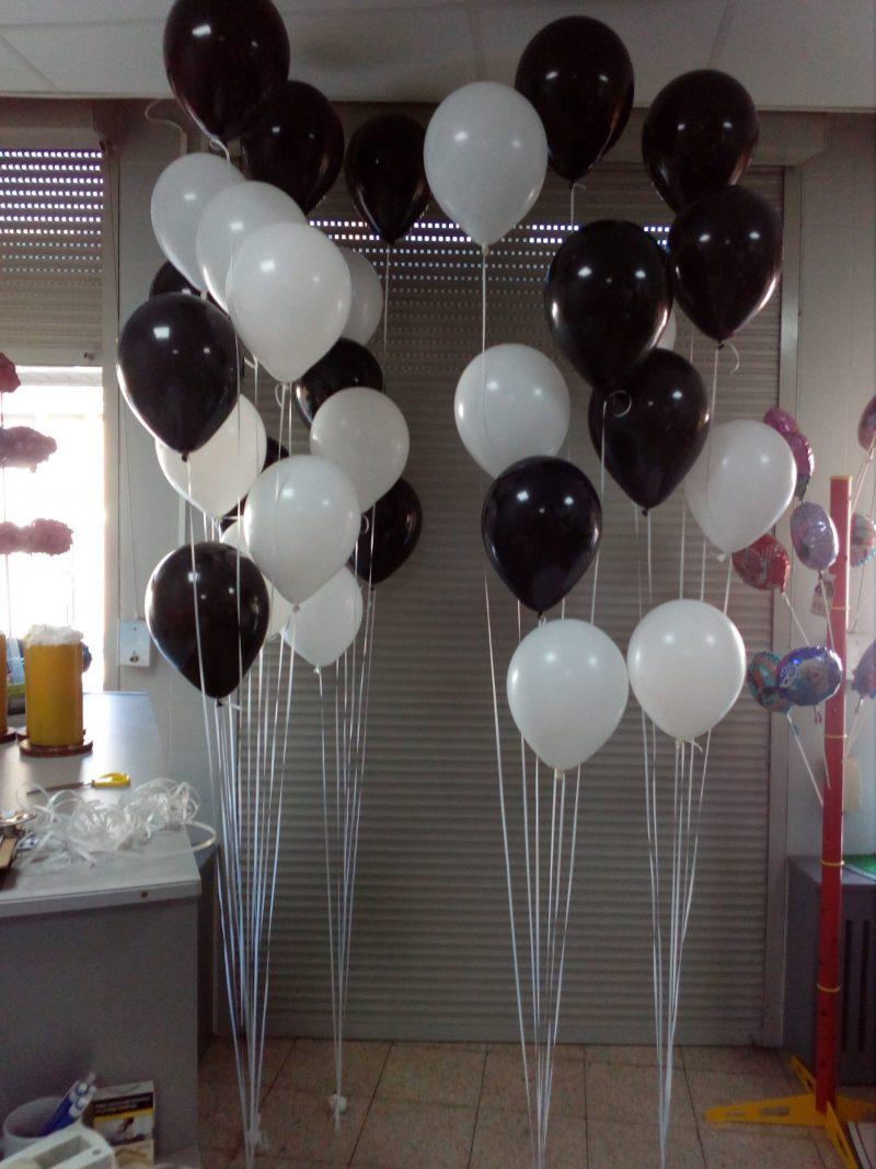 vloer deco 6 ballon