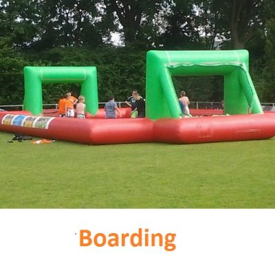 Voetbal booarding
